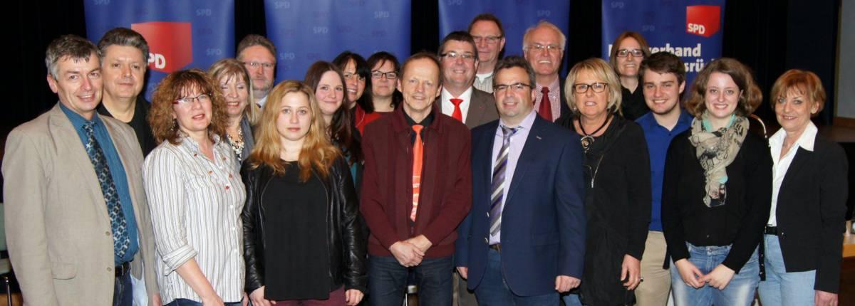 SPD-Kreistagsliste aufgestellt