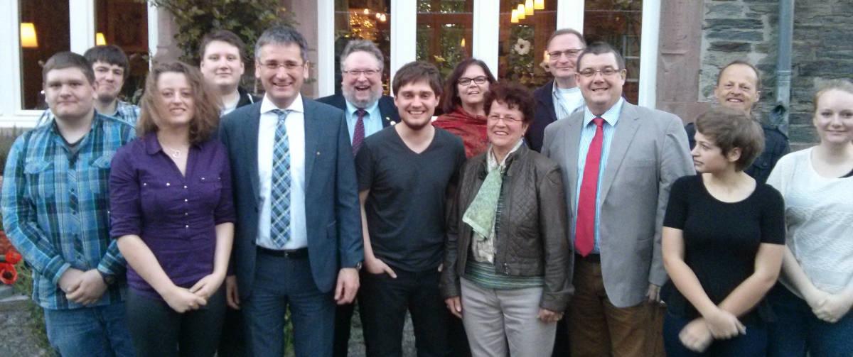1. Politischer Stammtisch mit Hendrik Hering