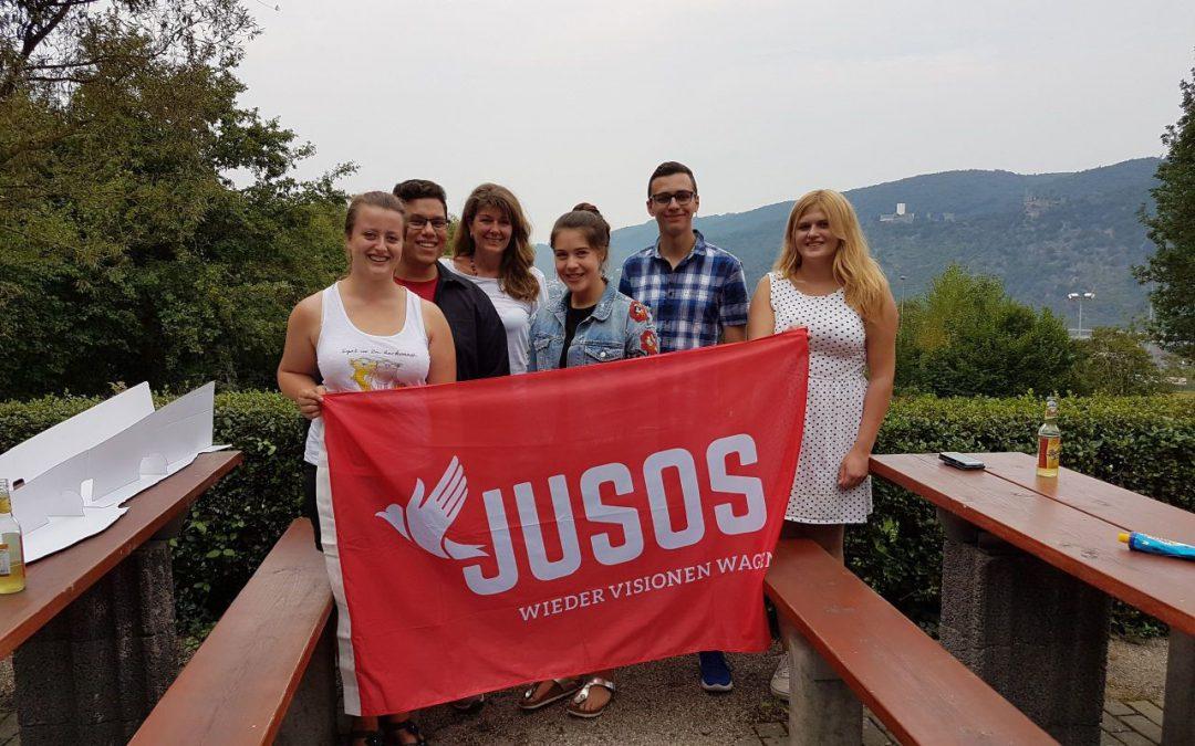Ruth Greb und Fabio Mohr zum neuen Sprecherteam der Jusos Rhein-Hunsrück gewählt